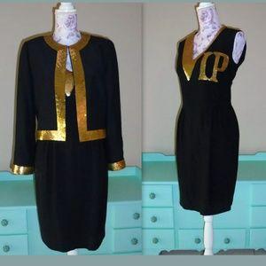 Moschino Couture VIP black dress 10
